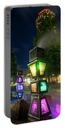 Boston Colored Steam Lights Boston Ma Rose Kennedy Greenway Steamy Portable Battery Charger