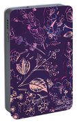 Botanical Branching Portable Battery Charger