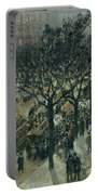 Boulevard Des Italiens - Afternoon, 1987 Portable Battery Charger