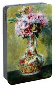 Bouquet In A Vase, 1878 Portable Battery Charger