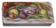 Bowl, Figs, And Apples, 1916 Portable Battery Charger