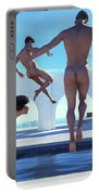 Boys Of Summer Pool Portable Battery Charger