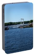 Brass Point Bridge On The Rideau Canal Ontario Portable Battery Charger