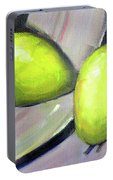 Breakfast Pears Portable Battery Charger