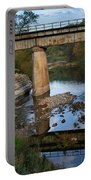 Bridge At Council Hill Station Portable Battery Charger