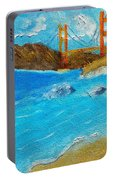 Bridge Over The Bay Portable Battery Charger