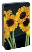 Bright Yellow Sunflowers Portable Battery Charger