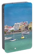 Brilliant Bermuda  Cityscape Portable Battery Charger