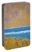Burkes Beach Original Painting Portable Battery Charger