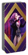 Burlesque Cher Diamond Portable Battery Charger
