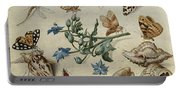 Butterflies, Clams, Insects Portable Battery Charger