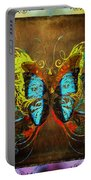 Butterfly Abstract Portable Battery Charger