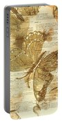 Butterfly Antiquities Portable Battery Charger