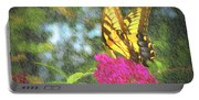 Butterfly Likeness  Portable Battery Charger