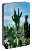 Cactus Twins Have Company Portable Battery Charger