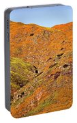 California Poppy Hills Portable Battery Charger