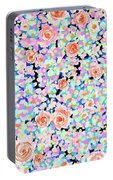California Rose Garden Portable Battery Charger