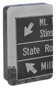 California State Sign Portable Battery Charger
