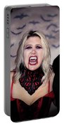 Call Of The Vampires Women Portable Battery Charger