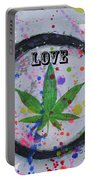 Cannabis With Love Portable Battery Charger