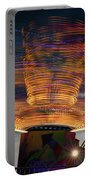 Carnival Rides Motion Blur Portable Battery Charger