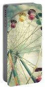 Carolina Beach Ferris Wheel Portable Battery Charger