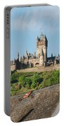 Castle At Cochem In Germany Portable Battery Charger