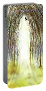 Cathedral Forest Portable Battery Charger by Darren Cannell