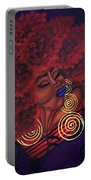 Caught Up In The Rapture Portable Battery Charger by Aliya Michelle