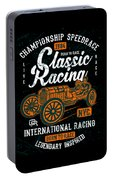 Championship Speed Race Classic Racing Portable Battery Charger