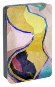Chaotic Abstract Shapes Portable Battery Charger