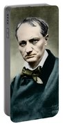 Charles Baudelaire, French Writer, Photo Portable Battery Charger