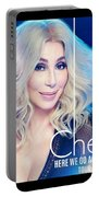 Cher Here We Go Again 2019 Portable Battery Charger