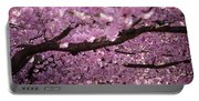 Cherry Blossom Tree Panorama Portable Battery Charger