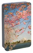 Cherry Blossoms At The Tidal Basin Portable Battery Charger