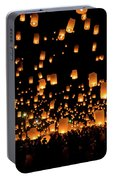 Chiang Mai Lantern Festival Portable Battery Charger