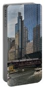 Chicago Skyline #1 Portable Battery Charger