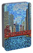 Chicago Wells Street Bridge 2 Portable Battery Charger