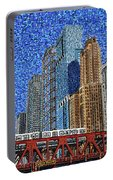Chicago Wells Street Bridge Portable Battery Charger