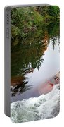 Chikanishing River In Autumn Portable Battery Charger