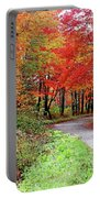 Chikanishing Road In Fall Portable Battery Charger