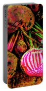 Chioggia Beets Portable Battery Charger