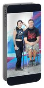Chris And Alek All Smiles Portable Battery Charger