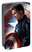 Chris Evans Captain America  Avengers Portable Battery Charger