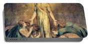 Christ Appearing To The Apostles After The Resurrection - Digital Remastered Edition Portable Battery Charger