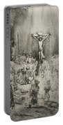 Christ Crucified Between The Two Thieves   The Three Crosses          Portable Battery Charger