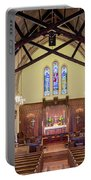 Christ Episcopal Interior Portable Battery Charger