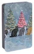Christmas Cats Portable Battery Charger