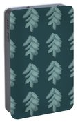Christmas Tree Pattern Portable Battery Charger