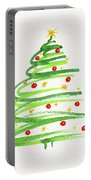 Christmas Tree With Decoration Portable Battery Charger
